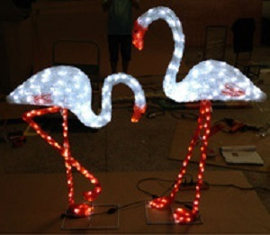 LED Decoration Xmas Lights Garden Decor Flamingo pictures & photos
