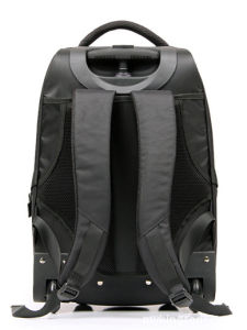 Black Trolley Backpack with Nylon Material and Modern Design pictures & photos