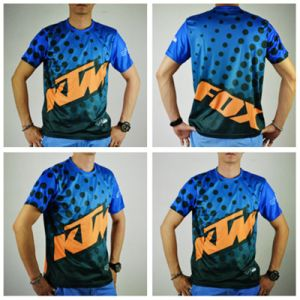 Wholesale Custom Sublimation Motocross Short Sleeve Jersey (ASH14) pictures & photos