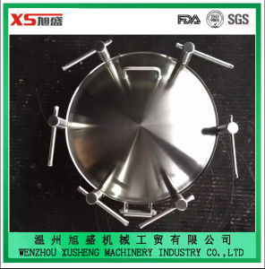 High Quality Stainless Steel Sanitary Dn400 Pressure Round Hatch pictures & photos