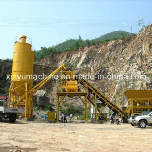 Small Skip Type Blending Concrete Batching Plant (HZS35) pictures & photos