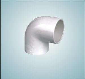 UPVC PVC Pipe Fittings 90 Degree Female Screw Elbow (E002)