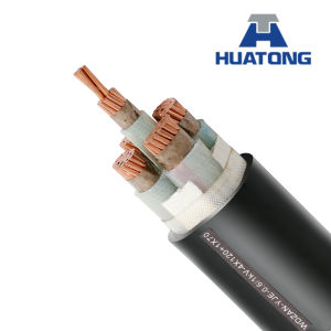 0.6/1/ 1.8/3 (3.6) Kv XLPE/PVC Power Cable (unarmored) Yjv, Yjlv pictures & photos