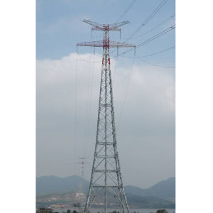 Customized Transmission Line Steel Tower pictures & photos