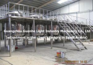 10t Sanitary Liquid Storage Tank with Platform (SUS316/SUS304) pictures & photos