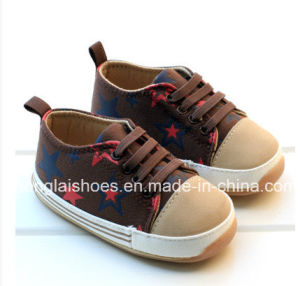 Children′s Leisure Cloth Shoes Bottom Baby