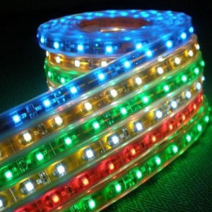 RGB 60LEDs/M SMD3528 DC12V Flexible LED Strip Light (G-SMD3528-60-12V-RGB) pictures & photos