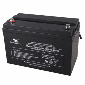 Deep Cycle Battery Ml12-100 (12V100AH) pictures & photos
