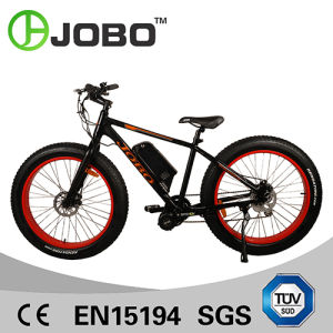 Jobo 26′ Electric Fat Bike with Crank Motor pictures & photos
