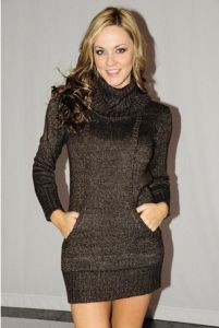 Lady Comfortable Knitted Sweater/Fashion Pullover (AZKS-01)