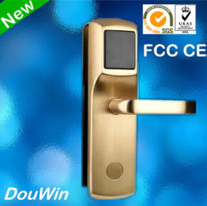 Electronic Hotel Smart Card Z Wave Mortise Lock pictures & photos