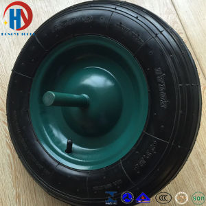 Wheel Barrow Pneumatic Rubber Wheel Tire 3.50-8 pictures & photos