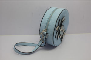 2017 Leisure Fashion Handbags Leather Circle Hand Bag for Women pictures & photos