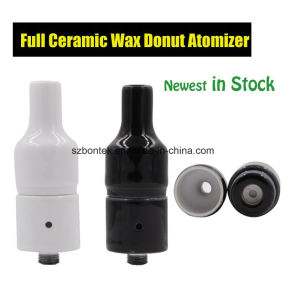 No Wick Ceramic Donut Atomizer with Rebuildable Wax Coil for Wax Vaporizer pictures & photos