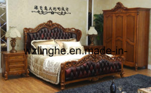 Leather Bed (LH2105)