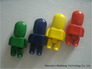 Robot USB Flash Drives Plastic USB Flash Disk pictures & photos