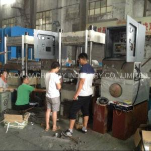 Rubber EVA Foaming Wheel Vulcanizing Press Vulcanizer Machine Factory Plant Manufacturers pictures & photos