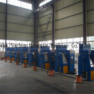 Hxe-28ds Fine Copper Wire Drawing Machine pictures & photos