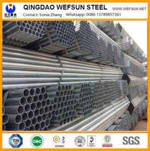 HDG Hot Dipped Galvanized Pipe pictures & photos
