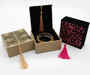 Custom Fabric Jewellry Accessories Boxes pictures & photos