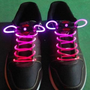Colorful LED Shoelaces Flash Light up Shoe Laces Glow Stick Strap Shoelaces for Party pictures & photos