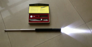 Fox Type Police Three Section Baton with Flashlight (SDAC-21) pictures & photos