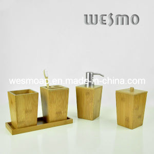 Carbonized Bamboo Bathroom Accessory (WBB0456A) pictures & photos
