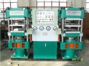 Four Column Type Rubber Tile Curing Machine\Plate Vulacanizing Press pictures & photos