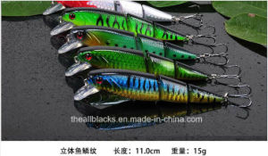 Classic Minnow- Plastic Fishing Lure -Hard Lure -Fishing Bait -Artificial Lure- Fishing Tackle Je
