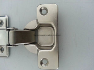 2 Way 4 Hole Base Kitchen Cabinet Concealed Hinge pictures & photos