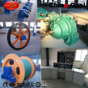 China Coal Jtp- 1.6*1.2p Mining Electric Shaft Hoist Winch for Sale pictures & photos
