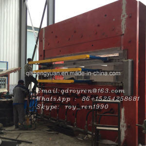 High Performance Tyre Tread Vulcanizing Press / Pre-Cured Tire Retreading Vulcanizing Press / E Structure Vulcanizing Press / Ctype Vulcanizing Press pictures & photos