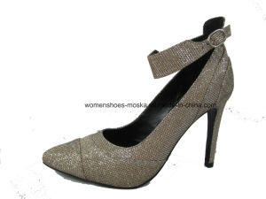 Hot Sale Women Fashion Whloesale High Heel Lady Dress Shoes pictures & photos
