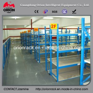 Industrial Storage Shelving Metal Decking System Rack pictures & photos