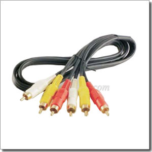 RCA Gold Plated a/V PVC Communication Cable (AL-AVC016Y) pictures & photos
