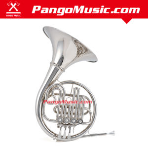 Bb Tone Nickel Plating French Horn (Pango PMFH-1651) pictures & photos