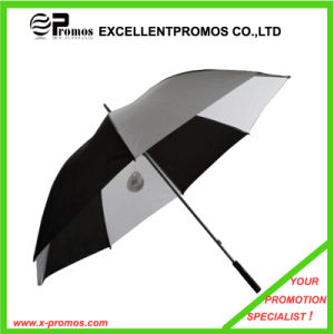 Promotional Autovent Two Layers Windproof Golf Umbrella (EP-U1025) pictures & photos
