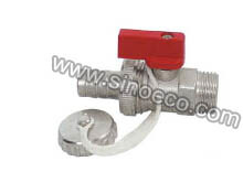 Manual Power Reduced Male Brass Ball Valve pictures & photos