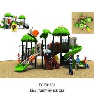Classcial Plastic Outdoor Playground Equipment, Used Kids Outdoor Playground (TY-F05101) pictures & photos