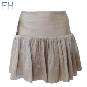 Ladies Fashion Chiffon Skirt (FH201498)