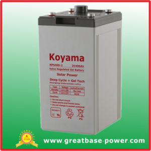 2V Photovoltaic System Battery Deep Cycle Gel Accumulators/ Battery 400ah pictures & photos