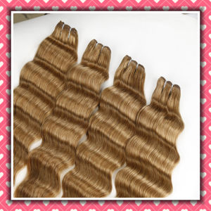 Hot Sale Wavy Brazilian Human Hair Loose Deep 22inches pictures & photos