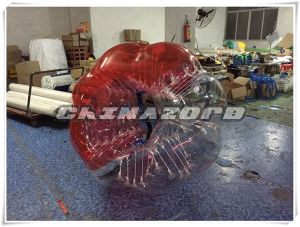 Red Color Inflatable Bubble Ball Printed with Customized Logo pictures & photos