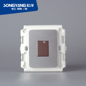 PC Series Gray 1gang Wall Switch pictures & photos