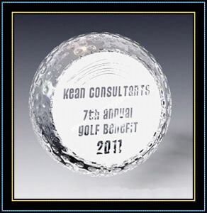 Engraved Crystal Ball Paper Weight Gift pictures & photos