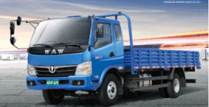 Chinese Dump Cargo Waw 2WD Diesel New Truck for Sale pictures & photos