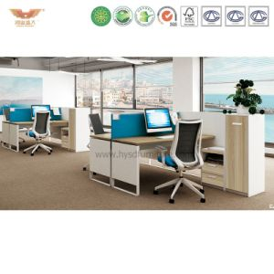 Hongye New Design Melamine Workstation Particle Board Office Furniture Customization pictures & photos