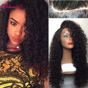 Silk Base Full Lace Wig Brazilian Glueless Deep Curly Wigs pictures & photos