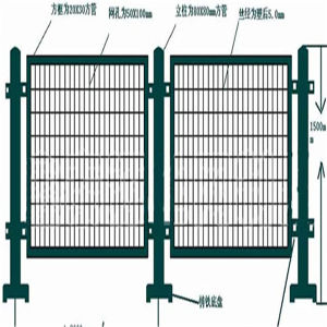 Security Fencing Panels/ Wire Panel Fence pictures & photos