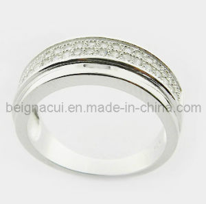 925 Sterling Silver CZ Stone Ring